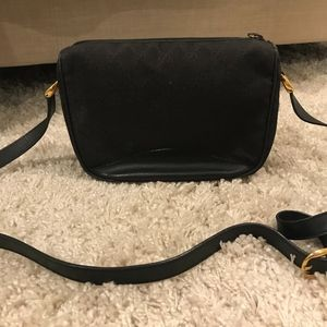Black Vintage GUCCI crossbody